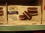 glutino gluten free oreos chocolate vanilla creme