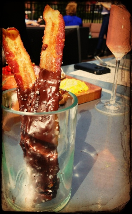 ovinte gluten free brunch town center chocolate covered bacon
