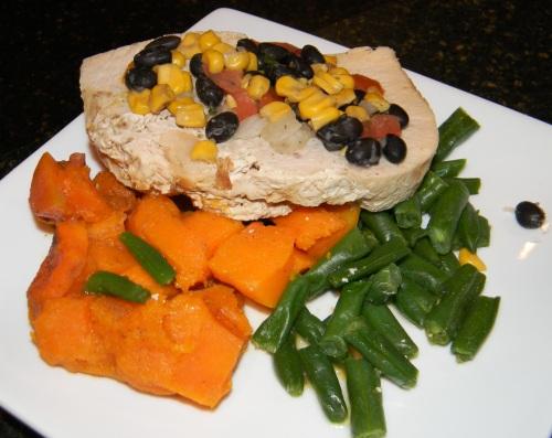 prepared gluten free meals turkey with corn salsa J. William Culinary