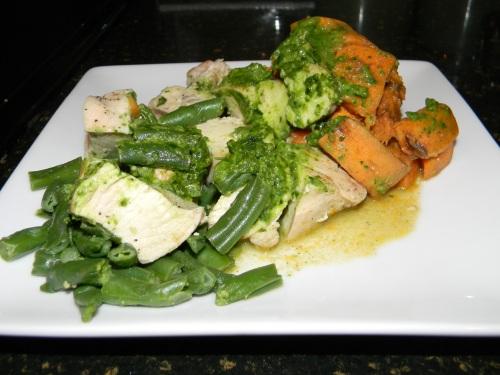 prepared gluten free meals seared chicken breast  J. William Culinary