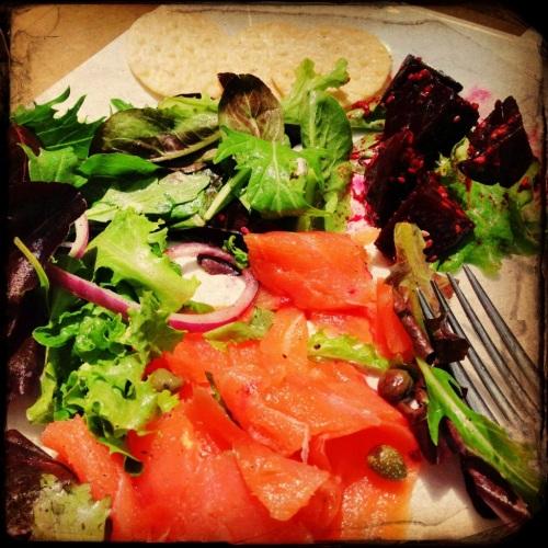 gluten free jacksonville smoked salmon salad surdyk's flights minnesota