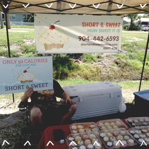 gluten free jacksonville beaches green market short and sweet cupcakes