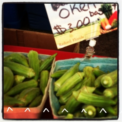 gluten free jacksonville beaches green market produce alvarez farms okra