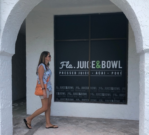 Gluten Free Jacksonville Florida Juice and Bowl