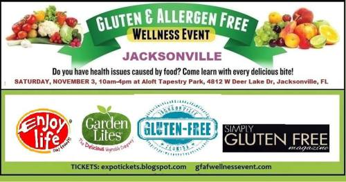 gluten free jacksonville allergen free wellness event